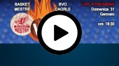 DIRETTA STREAMING: EMME RETAIL BASKET MESTRE - BVO CAORLE