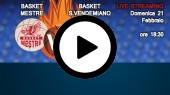 DIRETTA STREAMING: EMME RETAIL BASKET MESTRE - SAN VENDEMIANO
