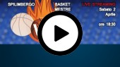 DIRETTA STREAMING: BASKET SPILIMBERGO - EMME RETAIL BASKET MESTRE
