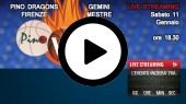 DIRETTA STREAMING: PINO DRAGONS - GEMINI BASKET MESTRE